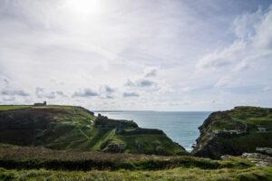 tintagel landscape photography
