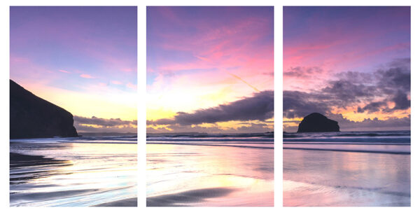 triptych canvas image